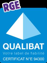 Qualibat - Votre label de fiabilité - Certificat Numéro E 94300