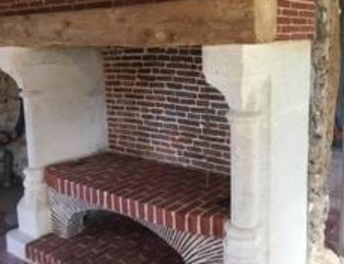 Rénovation d'une cheminée